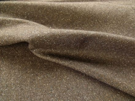 Wool Hopsack Weave Fabric with Fancy Decoration Fleck  HFF475